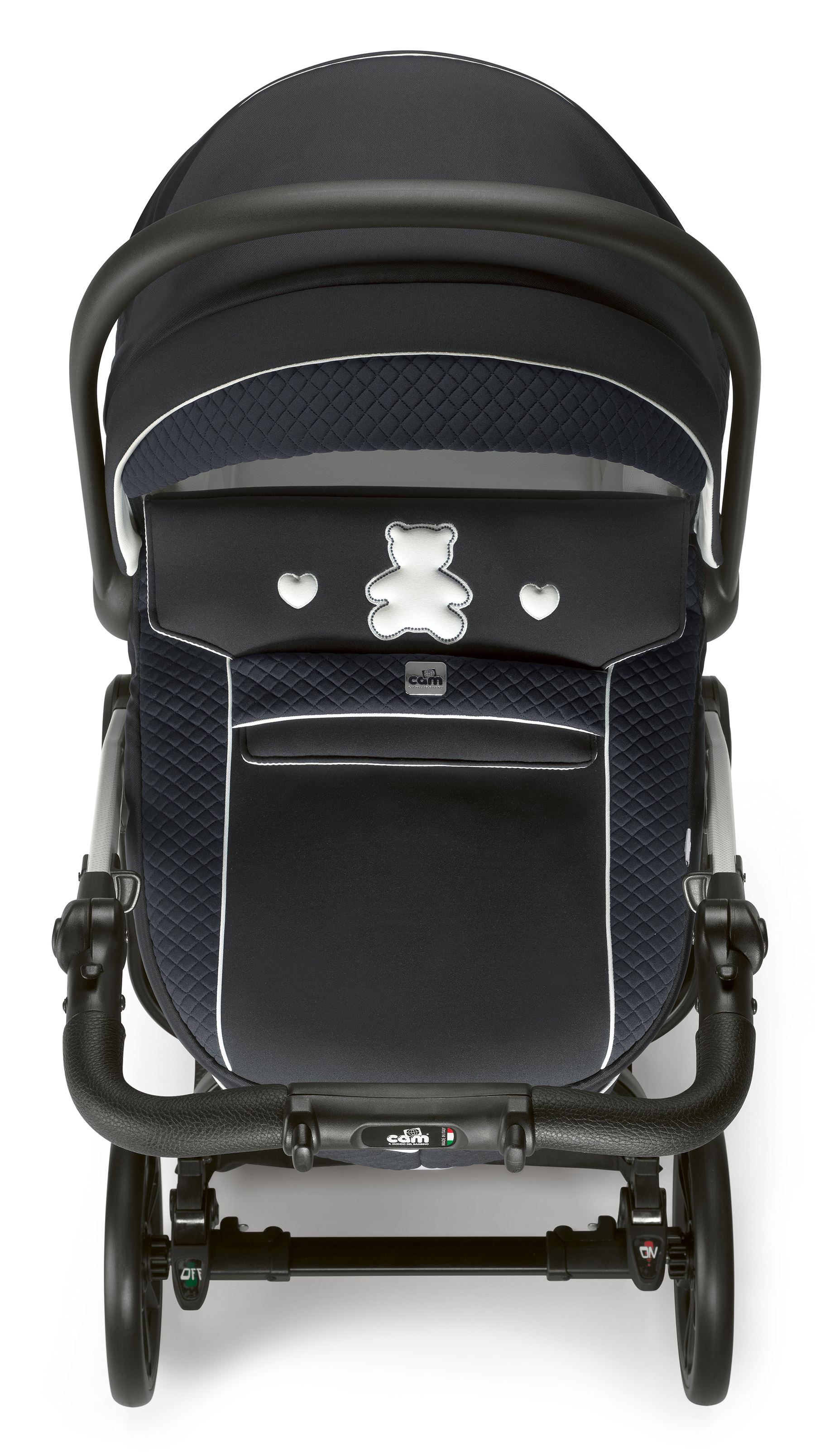 Коляска 3 в 1 Cam Techno Joy (шасси Black Carbon) 750